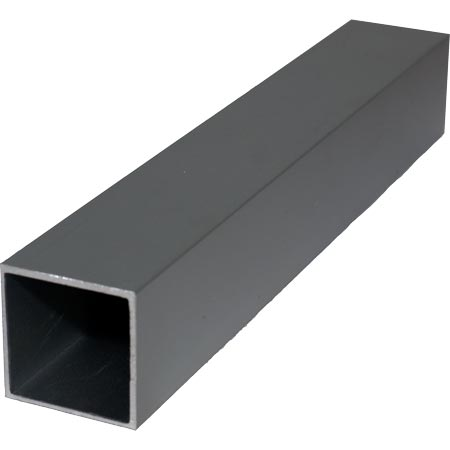 25mm Double Anodised Aluminium Square Tube